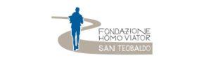 Logo Pellegrini nella terra del Santo, Fondazione San Teobaldo 2021. mobile